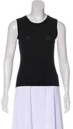 Versace Knit Sleeveless Top