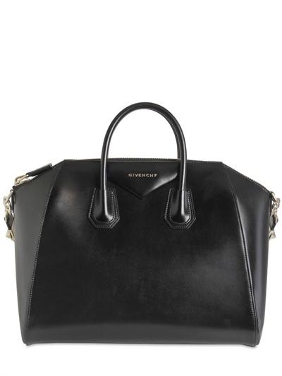 Givenchy Large Antigona Shiny Smooth Leather Bag