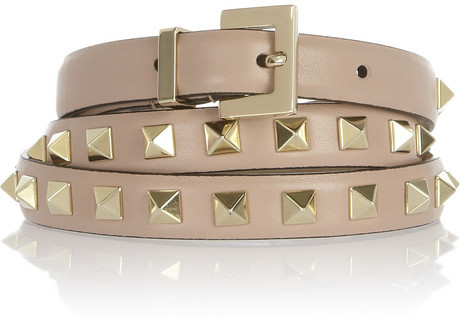 Valentino Studded leather belt