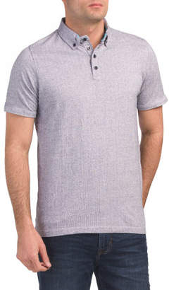 Polo With Trim Details