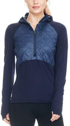 Icebreaker Ellipse 1/2-Zip Hooded Pullover - Women's