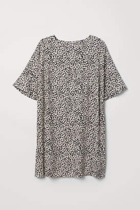 H&M H&M+ Short Dress - Beige
