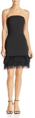 Lucy Paris Embellished Strapless Dress