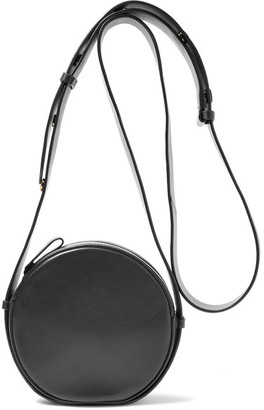 Diane von Furstenberg - Circle Leather Shoulder Bag - Black $298 thestylecure.com