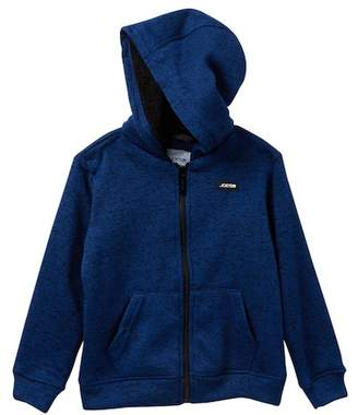 Joe's Jeans Faux Shearling Lined Hoodie (Little Boys)