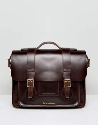 Dr. Martens Leather Satchel 15 Inch