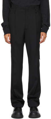 Lanvin Black Side Pocket Trousers