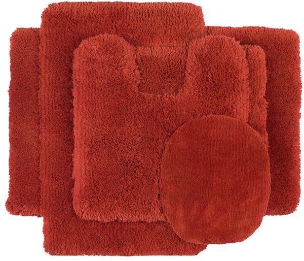 Shaw living® sassy shag bath rugs