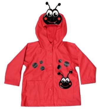 Western Chief Ladybug Hooded Raincoat