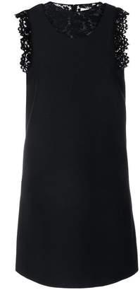 Valentino crepe couture dress