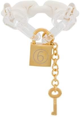 MM6 MAISON MARGIELA chain bracelets