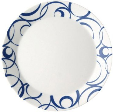 Curl Ocean Breakfast/Salad Plates (Set of 4) by Arzberg