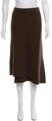 Issey Miyake Heart HaaT by Rib Knit Wool Skirt w/ Tags