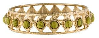 Lulu Frost Marbled Bead Embellished Bangle $75 thestylecure.com