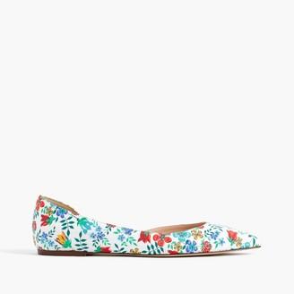 Audrey flats in Liberty® Edenham floral $148 thestylecure.com