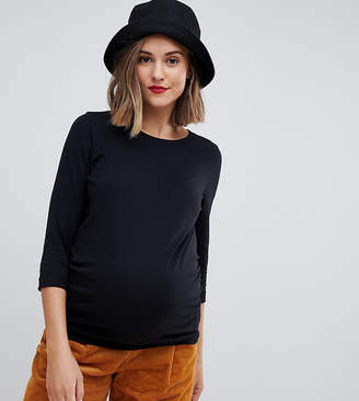 New Look Maternity 3/4 length sleeve plain top