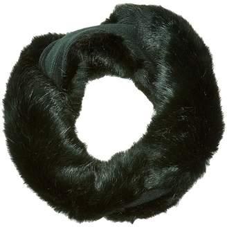 Echo Solid Faux Fur Neckwarmer Scarves