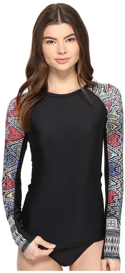 Roxy - Fashion Long Sleeve Rashguard Women's Swimwear