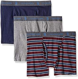 U.S. Polo Assn. Men's 3-Pack Stretch Boxer Briefs