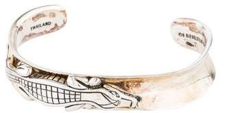Kieselstein-Cord Diamond Alligator Cuff