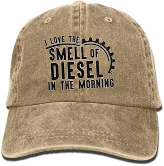Diesel Unknown I Love The Smell Of Jean Sports Cap,Fashion Street Dance Hat