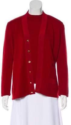 Salvatore Ferragamo Wool Cardigan Set