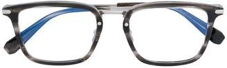 Brioni rectangle frame glasses