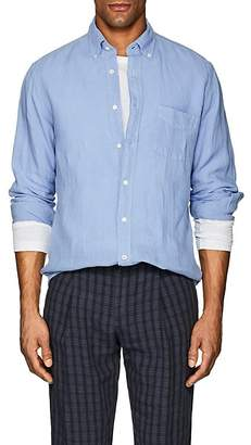 Hartford Men's Linen Button-Down Shirt