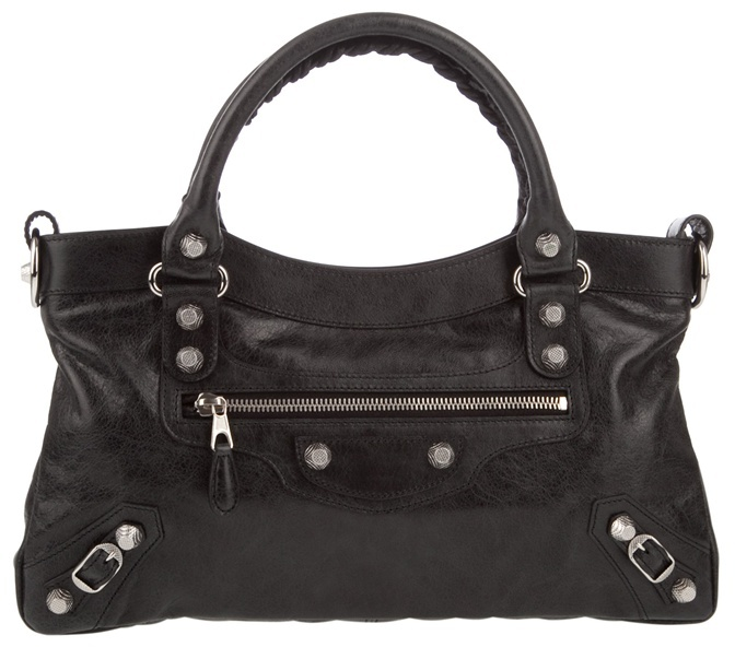 BALENCIAGA - Leather handbag