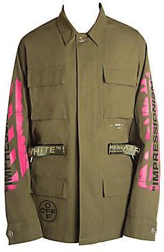 Off-White Men's Diagonal Arrows Field Jacket