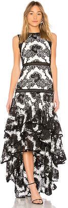Alexis Rita Floral Gown