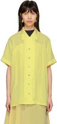 Acne Studios Yellow Rellah Bowling Shirt