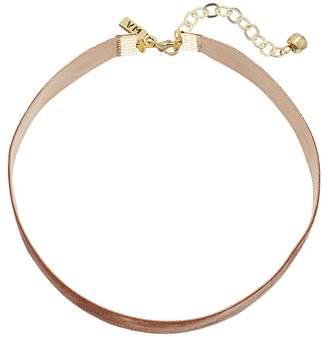 Vanessa Mooney 1/2 Velvet Choker Necklace Necklace