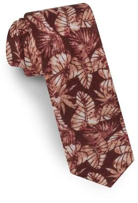 Ted Baker Palm Leaf Silk Tie