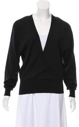 Hussein Chalayan Virgin Wool Long Sleeve Sweater