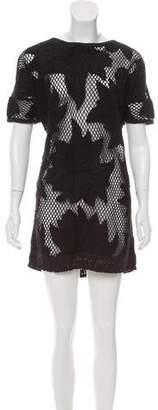 Etoile Isabel Marant Embroidered Shift Dress