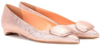 Rupert Sanderson Exclusive to mytheresa.com – Aga leather ballerinas