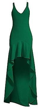 LIKELY Women's Sylvie Ruffled High-Low Gown - Size 0