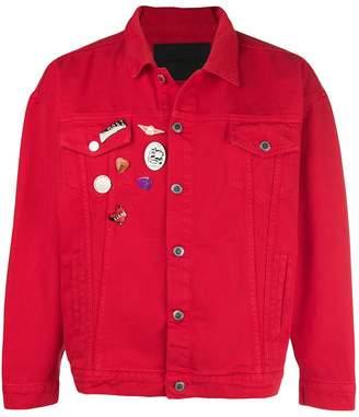 Nasaseasons denim pins jacket