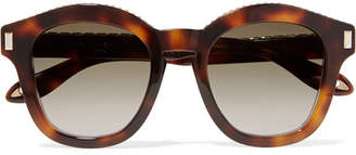 Givenchy Embellished Round-frame Tortoiseshell Acetate Sunglasses