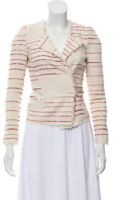 Etoile Isabel Marant Striped Long Sleeve Jacket