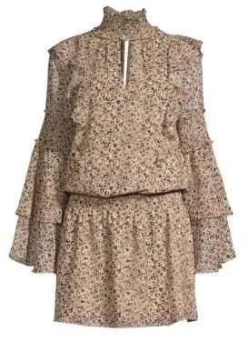 Parker Eliana Print Blouson Dress