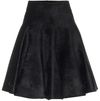 Alaia Felted double-jersey skater skirt