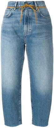 Levi's Made & Crafted barrel crop jeans