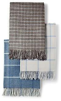 Italian Wool and Cashmere Throws