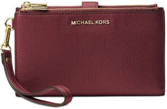 Michael Kors Adele Double-Zip iPhone 7 Plus Wristlet
