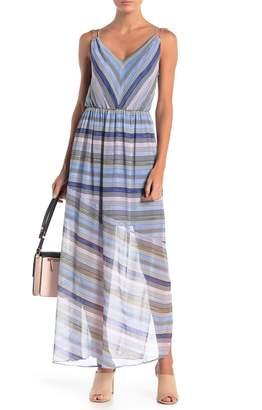 Cynthia Steffe CeCe by Jordan V-Neck Sleeveless Maxi Dress