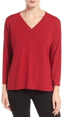 Women's Eileen Fisher Jersey Boxy Top $118 thestylecure.com