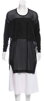 Ilaria Nistri Silk Long Sleeve Tunic