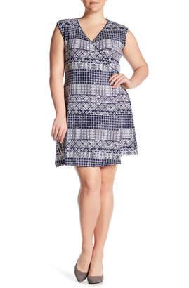 Tart Charmaine Printed Wrap Dress (Plus Size) $141 thestylecure.com